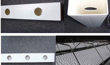 Ống nhựa thủy canh chữ nhật 1 lớp