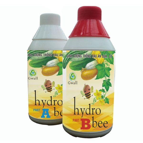 Cặp dung dịch thủy canh Hydro Bee loại 1 lít