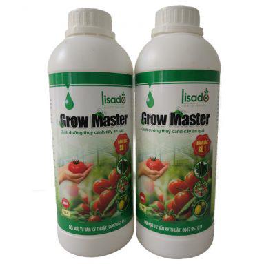 Cặp dung dịch thủy canh Grow Master 2l cho cây ăn trái